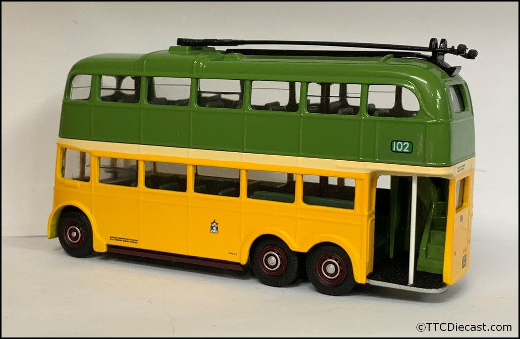 CORGI 43709 BUT 9641T Metro Cammell Trolleybus Glasgow